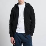 Мужская толстовка Stone Island T.CO+OLD Hooded Full Zip Black фото- 6