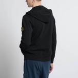 Мужская толстовка Stone Island T.CO+OLD Hooded Full Zip Black фото- 7