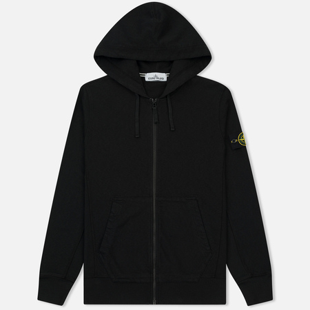 Мужская толстовка Stone Island T.CO+OLD Hooded Full Zip Black