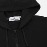 Мужская толстовка Stone Island T.CO+OLD Hooded Full Zip Black фото- 1