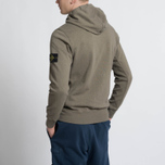 Мужская толстовка Stone Island T.CO+OLD Hooded Full Zip Olive фото- 7
