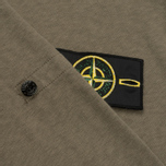 Мужская толстовка Stone Island T.CO+OLD Hooded Full Zip Olive фото- 5