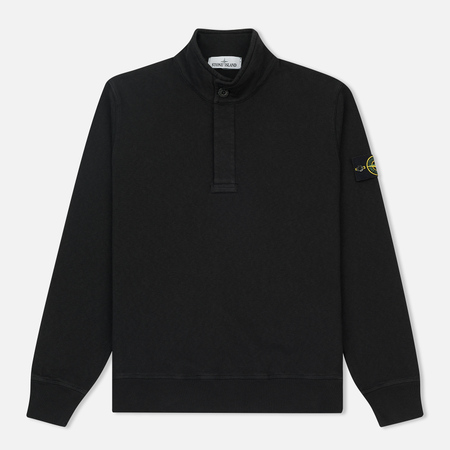 Мужская толстовка Stone Island T.CO+OLD Sweat Malfile Cotton Black