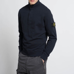 Мужская толстовка Stone Island T.CO+OLD Sweat Malfile Cotton Navy фото- 6