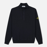 Мужская толстовка Stone Island T.CO+OLD Sweat Malfile Cotton Navy фото- 0