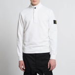 Мужская толстовка Stone Island T.CO+OLD Sweat Malfile Cotton White фото- 6