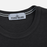 Мужская толстовка Stone Island Washed Crew Dark Grey фото- 1