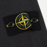Мужская толстовка Stone Island Washed Crew Dark Grey фото- 3
