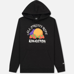Мужская толстовка Stussy All Fruits Ripe Hood Black фото- 0