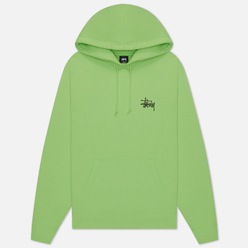 Мужская толстовка Stussy Basic Stussy Screenprint Hoodie Green