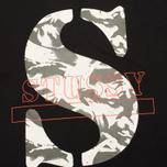 Stussy Camo S Crew Men's Sweatshirt Black photo- 2
