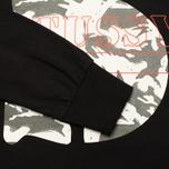 Stussy Camo S Crew Men's Sweatshirt Black photo- 3