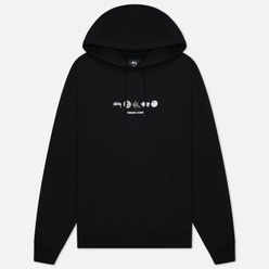 Мужская толстовка Stussy Global Design Corp Hoodie Black
