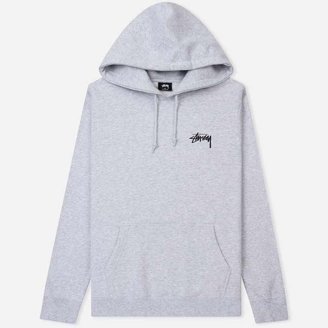 Мужская толстовка Stussy Mystic 8 Ball Hoodie Ash Heather