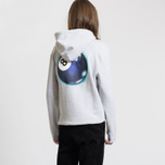 Мужская толстовка Stussy Mystic 8 Ball Hoodie Ash Heather фото- 3