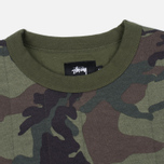 Мужская толстовка Stussy Quilted Crew Neck Camouflage фото- 1