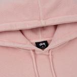 Мужская толстовка Stussy Stock Pigment Dyed Hoodie Blush фото- 1