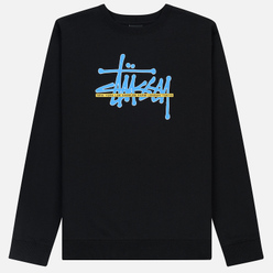 Мужская толстовка Stussy Stussy International Crew Black