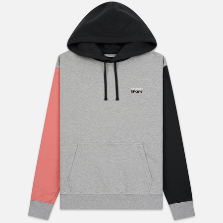 Мужская толстовка Stussy Stussy Sport Hoodie Grey Heather