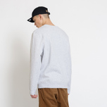 Мужская толстовка Stussy Stussy Weld Applique Crew Grey Heather фото- 5