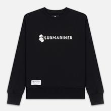 Мужская толстовка Submariner Basic Logo Print Black фото- 0