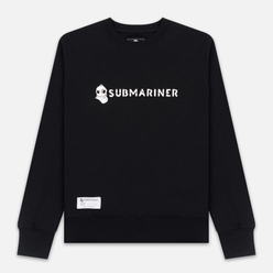 Мужская толстовка Submariner Basic Logo Print Black