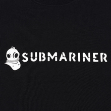 Мужская толстовка Submariner Basic Logo Print Black фото- 2