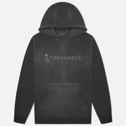 Мужская толстовка Submariner Basic Logo Print HV Hoodie Grey