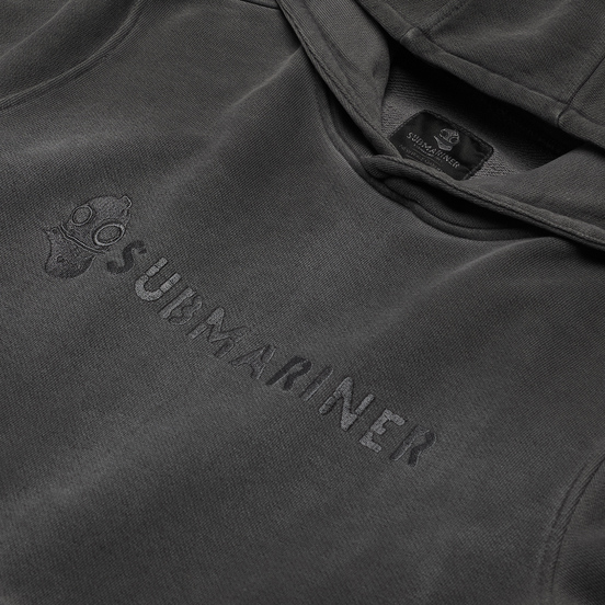 Мужская толстовка Submariner Basic Logo Print HV Hoodie Grey
