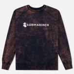 Submariner Biostone Wash Men`s Sweatshirt Purple Rusty photo- 0