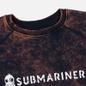 Мужская толстовка Submariner Biostone Wash Purple Rusty фото - 1