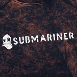Submariner Biostone Wash Men`s Sweatshirt Purple Rusty photo- 3