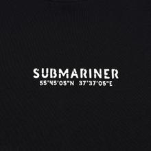Мужская толстовка Submariner Coordinates Logo Print Black фото- 2