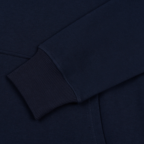 Мужская толстовка Submariner Coordinates Logo Print Hoodie Navy
