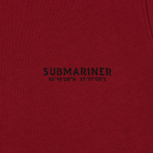 Мужская толстовка Submariner Main Logo Print Bordeaux фото- 2