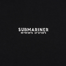 Мужская толстовка Submariner Main Logo Print Hoodie Black фото- 2