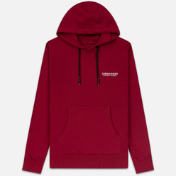 Мужская толстовка Submariner Main Logo Print Hoodie Bordeaux