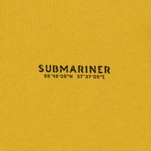 Мужская толстовка Submariner Main Logo Print Hoodie Mustard фото- 2