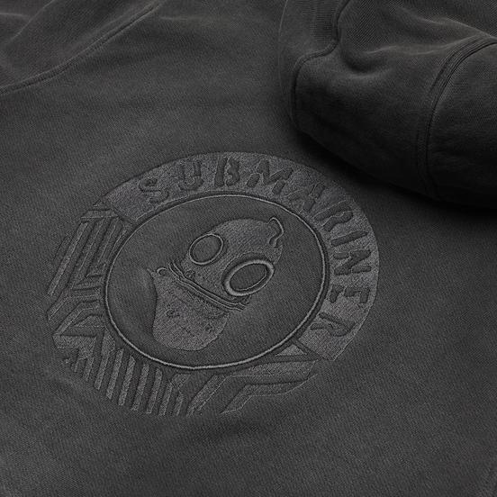 Мужская толстовка Submariner Main Logo Print HV Hoodie Grey