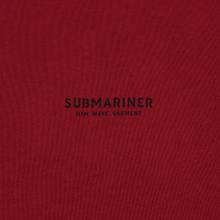 Мужская толстовка Submariner New Wave Print Bordeaux фото- 2