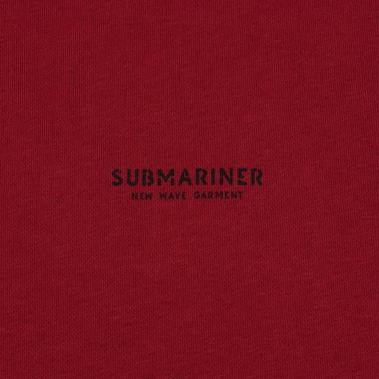 Мужская толстовка Submariner New Wave Print Bordeaux