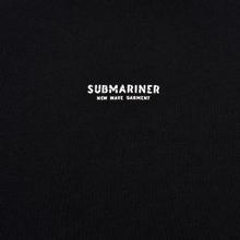Мужская толстовка Submariner New Wave Print Hoodie Black фото- 2