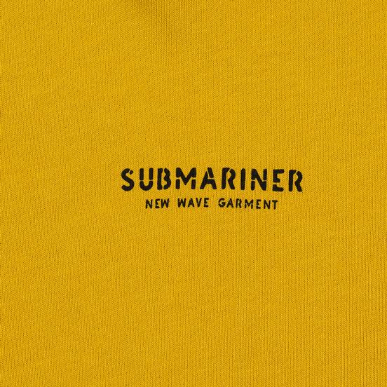 Мужская толстовка Submariner New Wave Print Hoodie Mustard