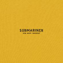 Мужская толстовка Submariner New Wave Print Mustard фото- 2
