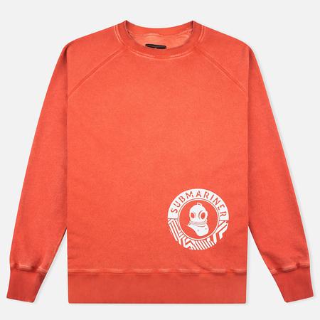 Submariner Night Glow Men`s Sweatshirt Orange