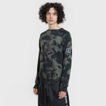 Мужская толстовка Submariner Patch Logo Camo Forest фото- 1