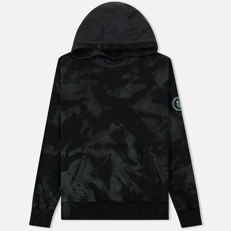 Мужская толстовка Submariner Patch Logo Reflective Hoodie Camo Forest