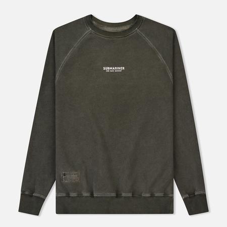 Мужская толстовка Submariner Reglan Garment Dye Vintage Effect Khaki