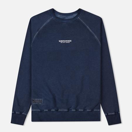 Мужская толстовка Submariner Reglan Garment Dye Vintage Effect Navy