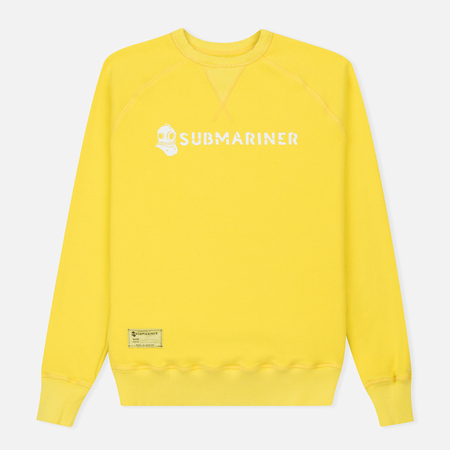 Мужская толстовка Submariner Crew Neck Stockholm Yellow
